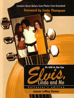 Elvis, Linda & Me: Unseen Pictures & Untold Stories from Graceland Books To Read, My Books, Linda Thompson, Graceland, How I Feel, Elvis Presley, That Way, Country Music, This Book