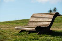 Riposati presso il parco termale delle Terme di Stigliano. #bench #nature #sky #green #land