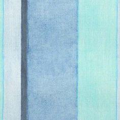 Watercolor Pascal Ocean. Available printed on linen, cotton, cotton linen blends. © Ellen Eden