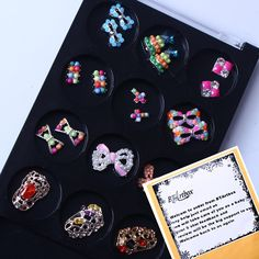 BTArtbox New Bowtie Design 3d Nail Art Colorful Pearl Alloy Nail Slices DIY Nail Art Decorations Christmas Tree 20 pieces >>> Learn more by visiting the image link.