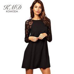 KMD KOMODA Backless Lace Dress Women Elegant Casual Mini Dresses Female Vintage Retro Straight Dress Ladies Vestidos