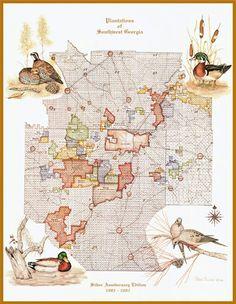 Map Of Southwest Georgia.Wildlife Art By Rena Divine Wildlifeartbyre On Pinterest