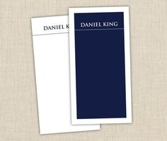 Men's Personalized Notepad Set. See more on brownpaperstudios.com