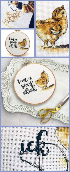 How cute is this for subversive cross stitch!