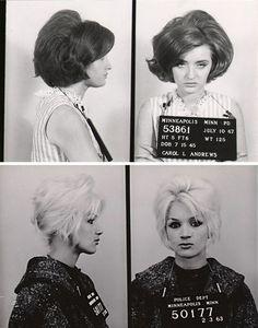 Vintage Bad Girl Mugshots Beehive Vintage And Girls - 15 vintage bad girl mugshots from between the 1940s and 1960s