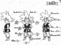 Dragon Ball - Model Sheet 143 | Dragon Ball Art Concepts Mod… | Flickr