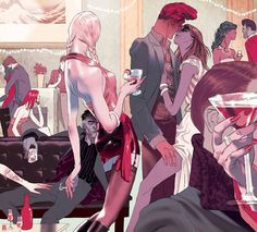 Nice article here on Tomer Hanuka where I got some of the images I posted.