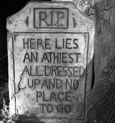 Dane Cook, The Atheist!