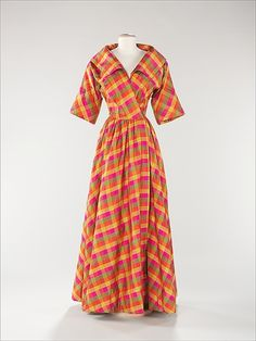 Evening Dress Bonnie Cashin, 1957 The Metropolitan Museum of Art