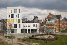 Passieve kinder- en jongerencampus Hardenvoort Antwerpen