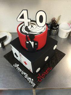 James Bond Birthday Cake