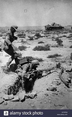 German Soldiers At Tobruk, 1941 Stock Photo, Royalty Free Image: 68837113 - Alamy