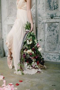 Ballerinas are a symbol of ethereal beauty, so pure, feminine and perfect that they just take our breath away! Many brides today choose ballet ...