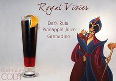 Disney Cocktails – Les recettes de cocktails inspirés des personnages et princesses Disney (image) Disney Cocktails, Cocktail Disney, Cocktail Drinks, Fun Drinks, Alcoholic Drinks, Cocktail Recipes, Yummy Drinks, Liquor Drinks, Summer Cocktails