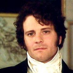 Ahh- my favorite look on Darcy's face- just after Elizabeth dismisses Caroline's instigation about Wickham, love it!
