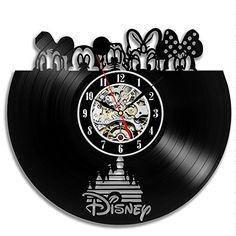 Disney Vinyl Record Wall Clock - Decorate your home with ...