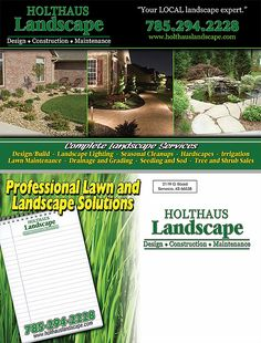 11 Best Postcards For Your Lawn Care And Landscape Company Images