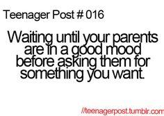 Teenager Post #16 #teenagerpost #relatable