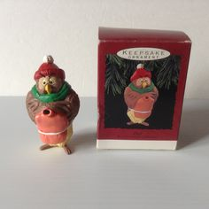 1993 Hallmark Keepsake Ornament Owl Disney Winnie the Pooh Collection QX569-5 by afunspottoshop on Etsy
