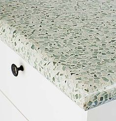 recycled glass countertops and other green alternatives - for my new island!