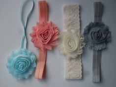 Hey, I found this really awesome Etsy listing at https://www.etsy.com/listing/230993486/baby-girl-headband-set-4-baby-headbands