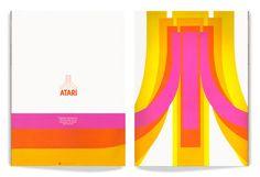 George Opperman's 1972 Atari logo. Palette kicks it!