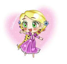 #Chibi #Rapunzel #Tangled #DIsney