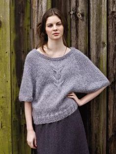 Derwent sweater pattern by Marie Wallin (knitting, pullover, bat wing, cables, rowan) — featured in New Favorites: Marie Wallin's Autumn —> http://fringeassociation.com/2013/07/24/new-favorites-rowan-autumn-knits-knitting-patterns/