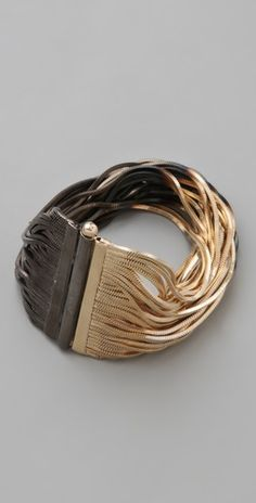 Shaded Fringe Cuff