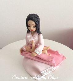 Bd cake topper for new mom