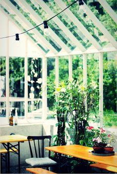 Växthus hos Leva Kungslador.