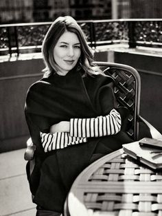 Sofia Coppola by Sebastian Kim. American screenwriter, film director, producer and actress.