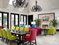 Florida Beachfront Residence by John David Edison Interior Design
