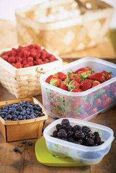 Summer produce-can last 3 weeks with Tupperware's FridgeSmart!  Y-E-S!    DanaW.My.Tupperware.com