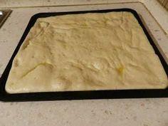 Pizza in teglia - stesura