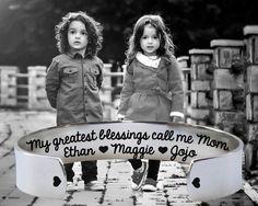 My Greatest Blessings Bracelet | Mother's Day