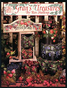 artist ros stallcup pictures of her painting | 363 Grans Treasures by Ros Stallcup