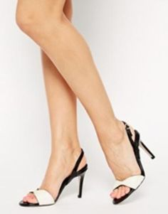 reiss leone barely there heeled sandals  cream #sandals #shoes #covetme