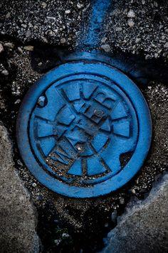 aurum-design:  Sky Blue Water