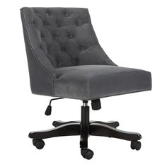 99+ Black Desk Chairs - Country Home Office Furniture Check more at http://www.sewcraftyjenn.com/black-desk-chairs/