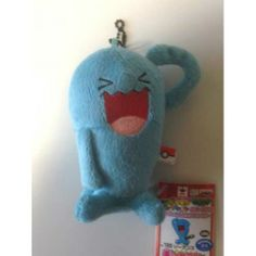 Pokemon 2014 Banpresto UFO Game Catcher Prize My Pokemon Collection Series Wobbuffet Plush Keychain