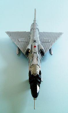 F-106 Delta Dart #LEGO #plane #MOC