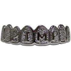 Platinum Grillz Pimp Teeth