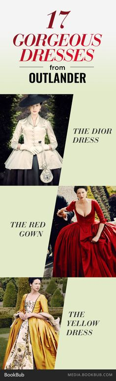 The 17 Most Gorgeous Dresses from Season 2 of 'Outlander' Outlander Quotes, Outlander Season 2, Outlander Book Series, Outlander 3, Outlander Clothing, Outlander Wedding, Starz Series, Diana Gabaldon Outlander, Claire Fraser