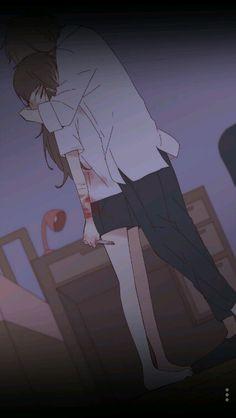 From nightmare to love Sad Anime Girl, Kawaii Anime Girl, Dark Art Illustrations, Illustration Art, Cute Anime Character, Character Art, Sad Art, Hunter Anime, Art Memes