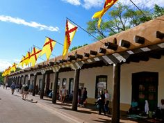 The Palace of the Governors in Santa Fe is the oldest public building in the U.S. | Oldest Things You Will Only Find in New Mexico