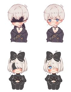 We need more cute Nier things to deal with the sadness the game provides...