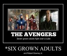 The Avengers summed up…