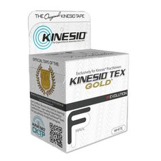 Kinesio Tex Gold FP Single Rolls - White