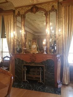 Fireplace Mantles, Fireplaces, Waterfall Furniture, Plantation Homes, House Interiors, Stoves, Fire Pits, Victorian Homes, Wood Burning